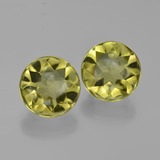 thumb image of 7.9ct Round Buff-Top Lemon Quartz (ID: 417386)