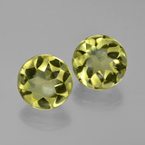 thumb image of 8.3ct Round Buff-Top Lemon Quartz (ID: 417390)