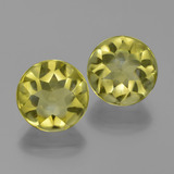thumb image of 7.7ct Round Buff-Top Lemon Quartz (ID: 417397)