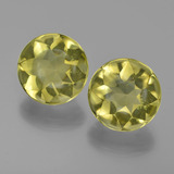 thumb image of 8.1ct Round Buff-Top Lemon Quartz (ID: 417399)
