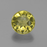 thumb image of 3.9ct Round Buff-Top Lemon Quartz (ID: 417402)
