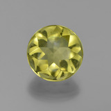 thumb image of 3.9ct Round Buff-Top Lemon Quartz (ID: 417405)