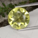 thumb image of 3.7ct Round Buff-Top Lemon Quartz (ID: 417406)