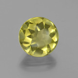 thumb image of 3.9ct Round Buff-Top Lemon Quartz (ID: 417411)