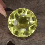 thumb image of 3.7ct Round Buff-Top Lemon Quartz (ID: 417412)