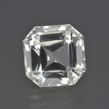 thumb image of 8.6ct Octagon / Scissor Cut White Quartz (ID: 417480)