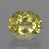thumb image of 3.3ct Oval Facet Lemon Quartz (ID: 417560)