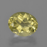 thumb image of 3.6ct Oval Facet Lemon Quartz (ID: 417564)