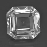 thumb image of 10.3ct Octagon / Scissor Cut White Quartz (ID: 417863)