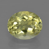 thumb image of 3.3ct Oval Facet Lemon Quartz (ID: 417885)