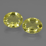 thumb image of 5.7ct Oval Facet Lemon Quartz (ID: 423200)