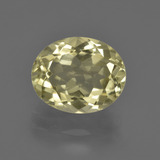 thumb image of 3.8ct Oval Facet Lemon Quartz (ID: 423230)