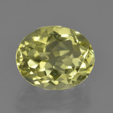 thumb image of 3.4ct Oval Facet Lemon Quartz (ID: 423331)
