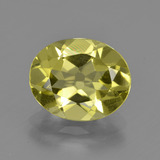 thumb image of 2.9ct Oval Facet Lemon Quartz (ID: 423357)