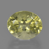 thumb image of 3.6ct Oval Facet Lemon Quartz (ID: 423374)