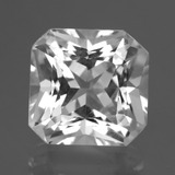 thumb image of 6.5ct Octagon / Scissor Cut White Quartz (ID: 424661)