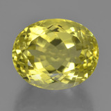 thumb image of 18.9ct Oval Facet Lemon Quartz (ID: 451907)