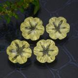 thumb image of 12.5ct Carved Flower Lemon Quartz (ID: 470147)