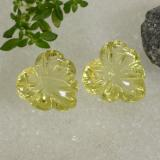 thumb image of 13.1ct Carved Leaf Lemon Quartz (ID: 470554)