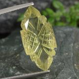 thumb image of 8.5ct Carved Marquise Cabochon Lemon Quartz (ID: 474970)