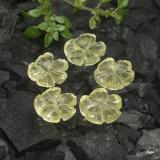 thumb image of 1.7ct Carved Flower Lemon Quartz (ID: 485616)