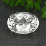thumb image of 6.9ct Oval Facet White Quartz (ID: 493239)
