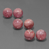 thumb image of 42.2ct Drilled Sphere Multicolor Rhodochrosite (ID: 423054)