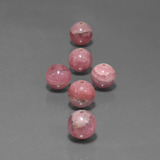thumb image of 45.2ct Drilled Sphere Multicolor Rhodochrosite (ID: 423056)