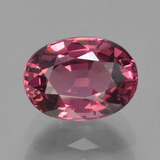 thumb image of 1.7ct Oval Facet Raspberry Red Rhodolite Garnet (ID: 383215)