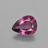 thumb image of 1.9ct Pear Facet Raspberry Red Rhodolite Garnet (ID: 402681)