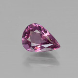 thumb image of 1.2ct Pear Facet Raspberry Red Rhodolite Garnet (ID: 412035)