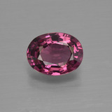 thumb image of 1.5ct Oval Facet Raspberry Red Rhodolite Garnet (ID: 412088)