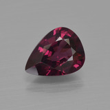 thumb image of 1.7ct Pear Facet Raspberry Red Rhodolite Garnet (ID: 412703)
