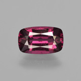 thumb image of 1.7ct Cushion-Cut Raspberry Red Rhodolite Garnet (ID: 412825)