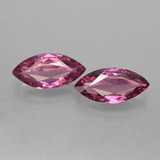 thumb image of 2.3ct Marquise Facet Raspberry Red Rhodolite Garnet (ID: 412903)