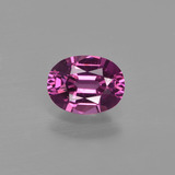 thumb image of 1ct Oval Facet Raspberry Red Rhodolite Garnet (ID: 415453)