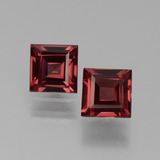 thumb image of 1.4ct Square Facet Pinkish Rose Rhodolite Garnet (ID: 431044)