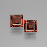 thumb image of 0.7ct Square Facet Deep Red Rhodolite Garnet (ID: 431058)