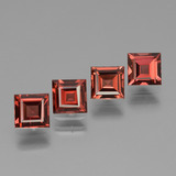 thumb image of 2.8ct Square Facet Pinkish Rose Rhodolite Garnet (ID: 431096)
