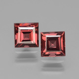 thumb image of 1.8ct Square Facet Pinkish Rose Rhodolite Garnet (ID: 431106)