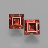 thumb image of 1.5ct Square Facet Pinkish Rose Rhodolite Garnet (ID: 431187)