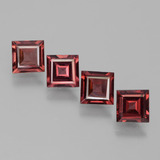 thumb image of 2.6ct Square Facet Pinkish Rose Rhodolite Garnet (ID: 431213)