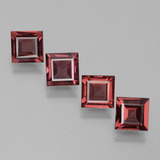 thumb image of 2.8ct Square Facet Pinkish Rose Rhodolite Garnet (ID: 431220)