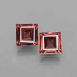 thumb image of 1.4ct Square Facet Pinkish Rose Rhodolite Garnet (ID: 431283)