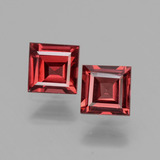thumb image of 1.4ct Square Facet Pinkish Rose Rhodolite Garnet (ID: 431296)