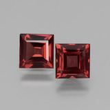 thumb image of 1.5ct Square Facet Pinkish Rose Rhodolite Garnet (ID: 431328)