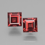 thumb image of 1.8ct Square Facet Pinkish Rose Rhodolite Garnet (ID: 431451)