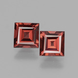 thumb image of 1.5ct Square Facet Pinkish Rose Rhodolite Garnet (ID: 431483)