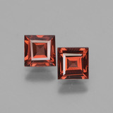 thumb image of 1.5ct Square Facet Pinkish Rose Rhodolite Garnet (ID: 431516)