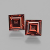 thumb image of 1.7ct Square Facet Pinkish Rose Rhodolite Garnet (ID: 431644)